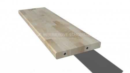 Treppenstufe BUCHE 1000 x 275 x 39 mm