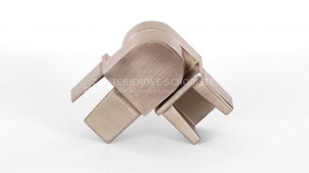 Verbindungsstück Edelstahlhandlauf 40 x 40 mm – verstellbar